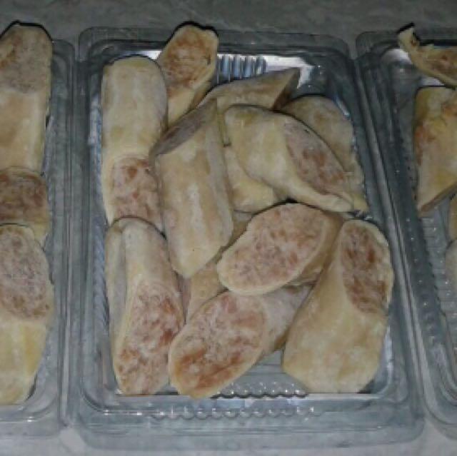Frozen chicken egg roll ala hokben