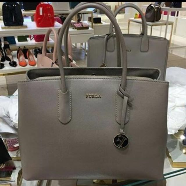 best selling many fashionable detailing Furla Tessa Bag, Luxury, Bags & Wallets on Carousell