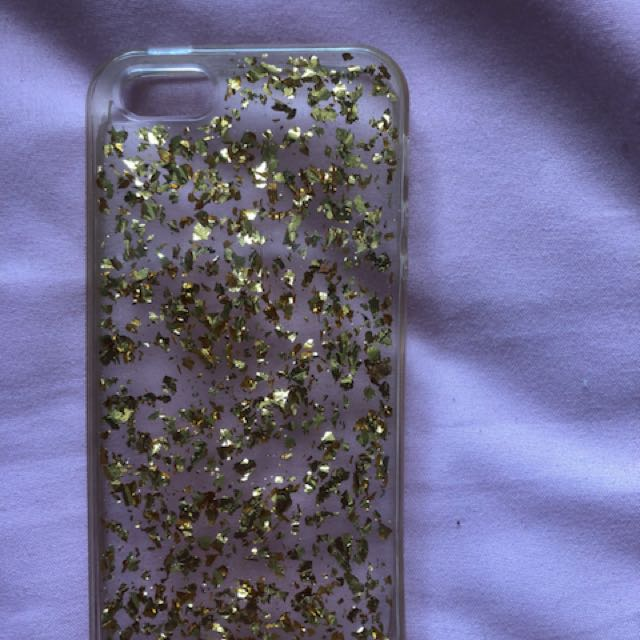 Gold iPhone 5-5s case