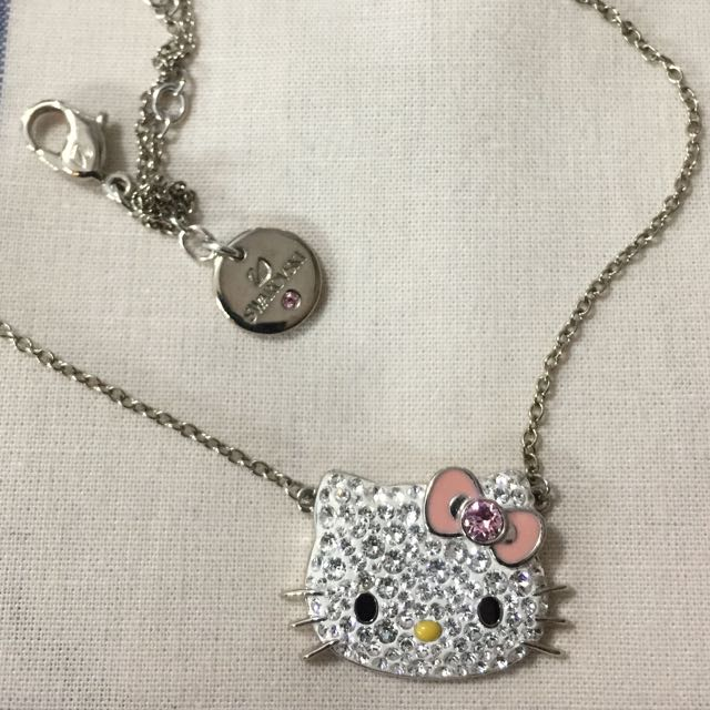 Hello Kitty Necklace Swarovski