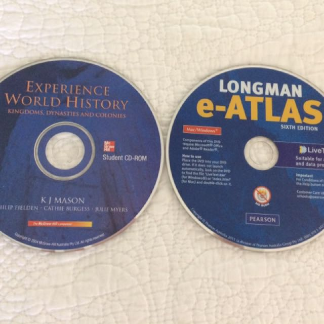 History and Geography Textbook CD's