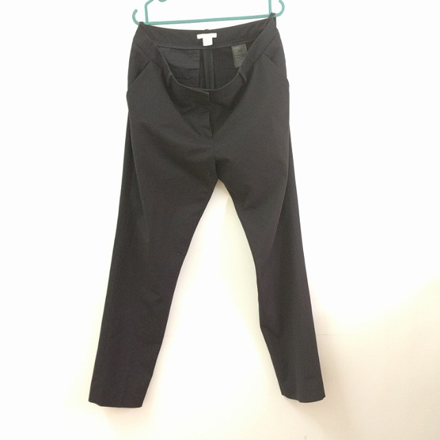 H&M black trousers in UK12