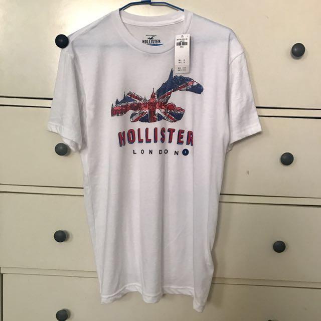 Hollister男生 倫敦T shirt #幫你省運費