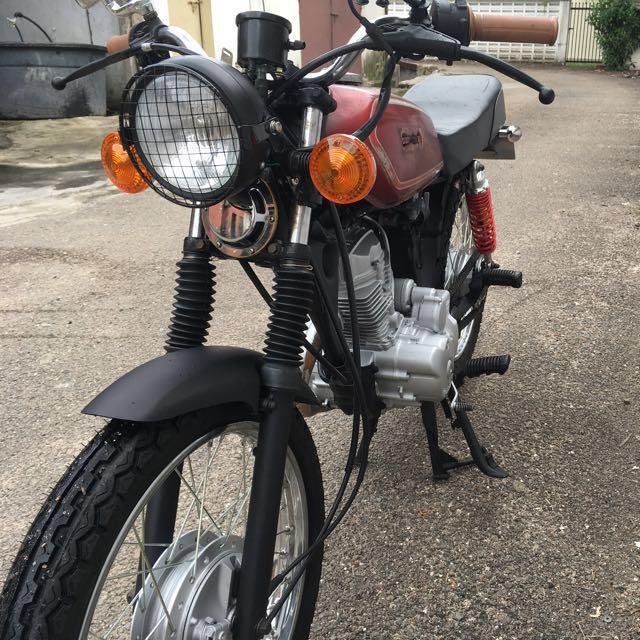 Ogromny Honda CG125 Cafe Racer , Motorbikes, Motorbikes for Sale, Class 2B PQ85