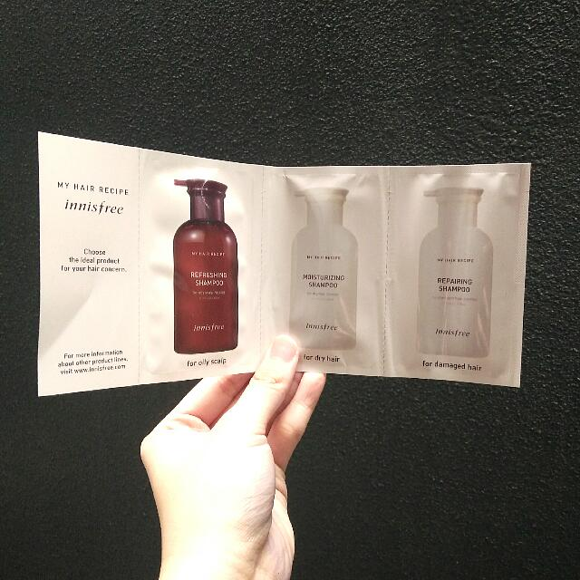 Innisfree My Hair Recipe (Take All For JUST 25k)