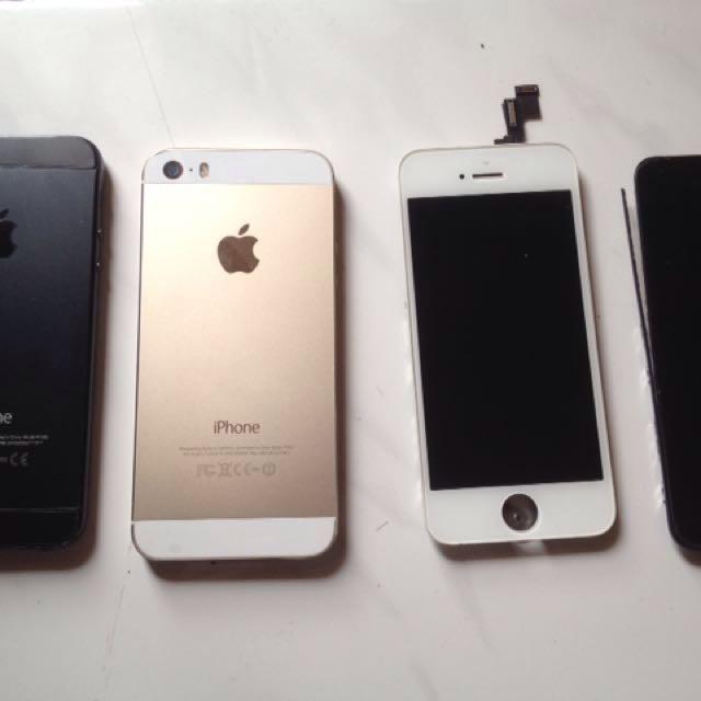 Iphone 5s 16gb rusak