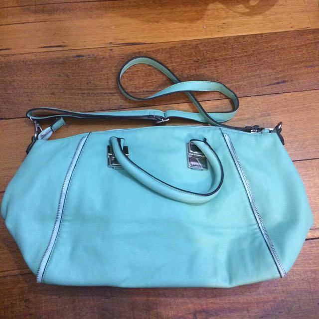 Kate Hill Mint Handbag