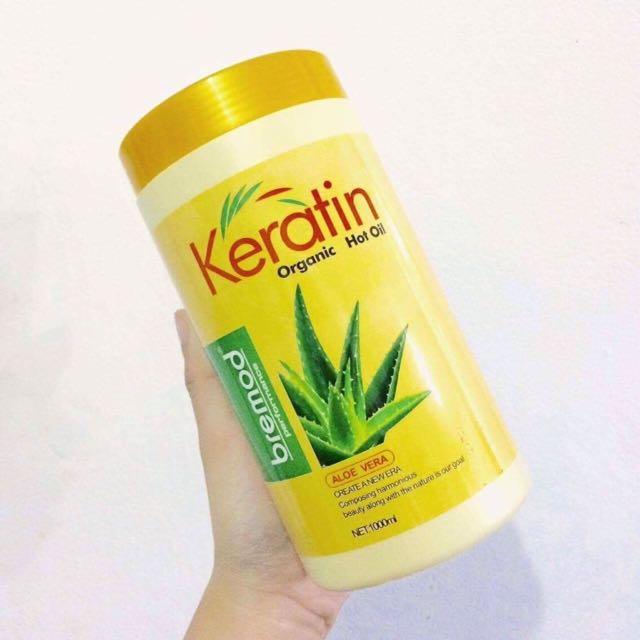 Keratin Aloe vera