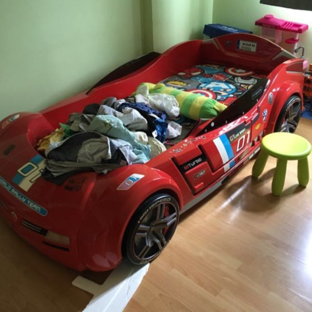 Kid Car Bed Cilek Furniture Beds Mattresses On Carousell