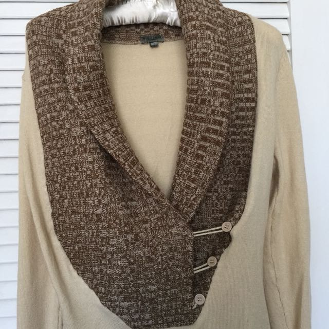 Knitted long blouse- size S/M