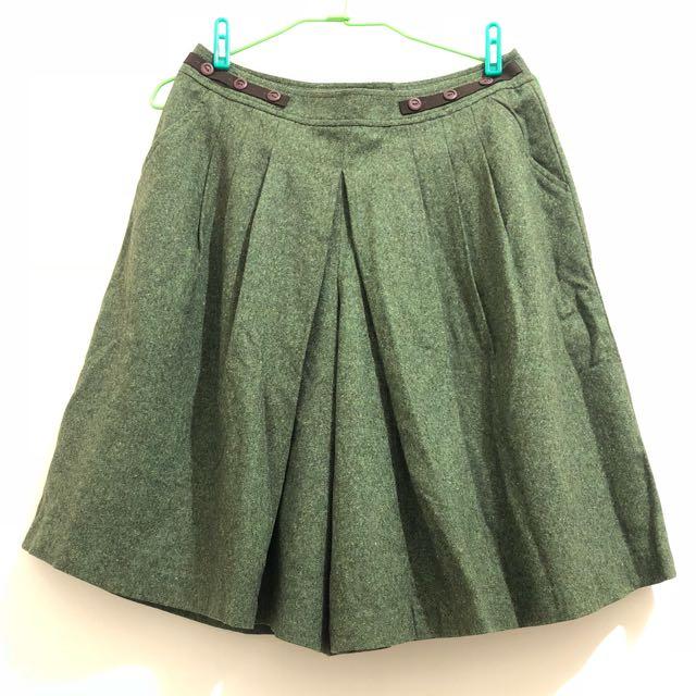 日系品牌寬褲裙L號