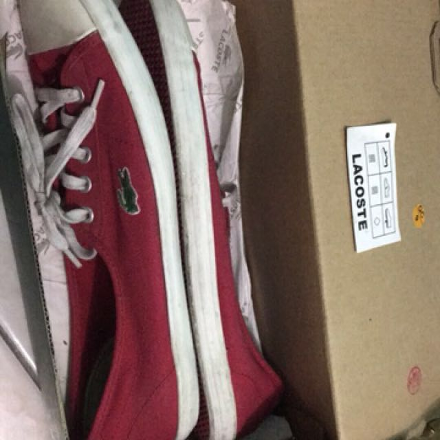 Lacoste Shoes with Box (ORIGINAL)