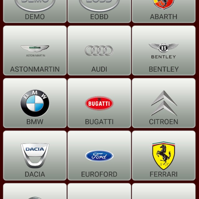 Launch OBD2 scan tool