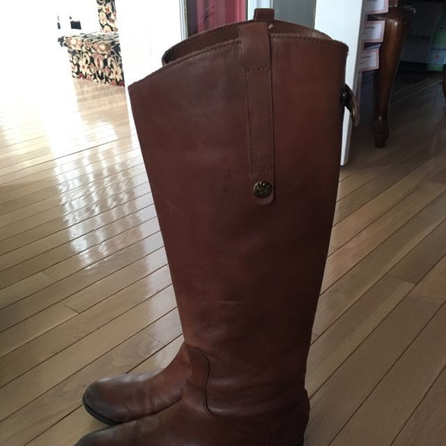 Leather Riding Boots -size 8