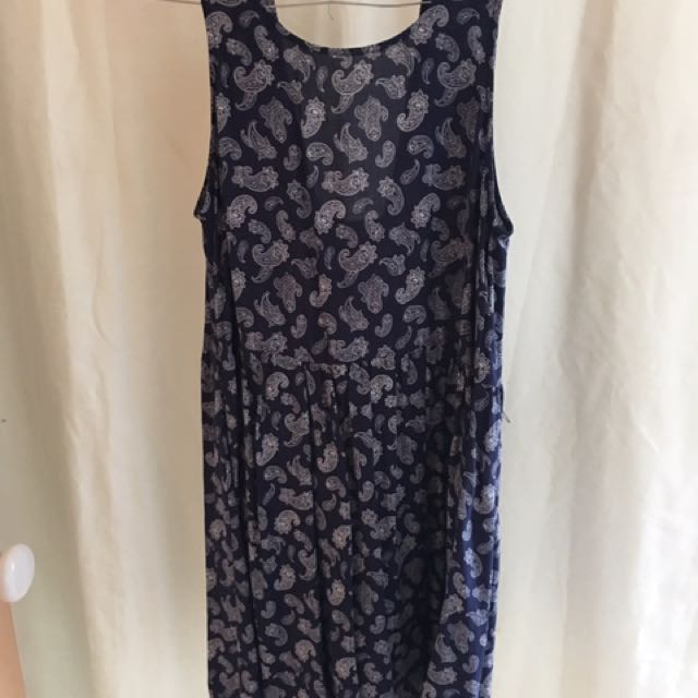 Lily Loves Paisley Navy dress BNWT