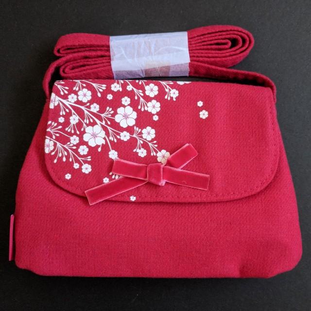 L'Occitane Cherry Blossom Pouch Bag