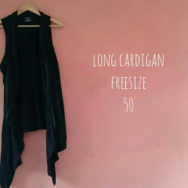 Long cardigan