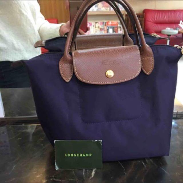 Longchamp s號 紫