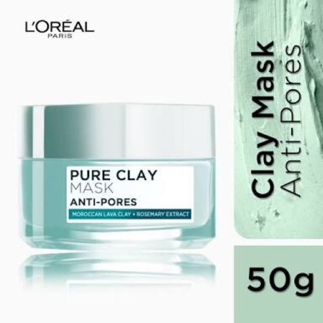 L'oreal Pure Clay Mask Anti-Pores