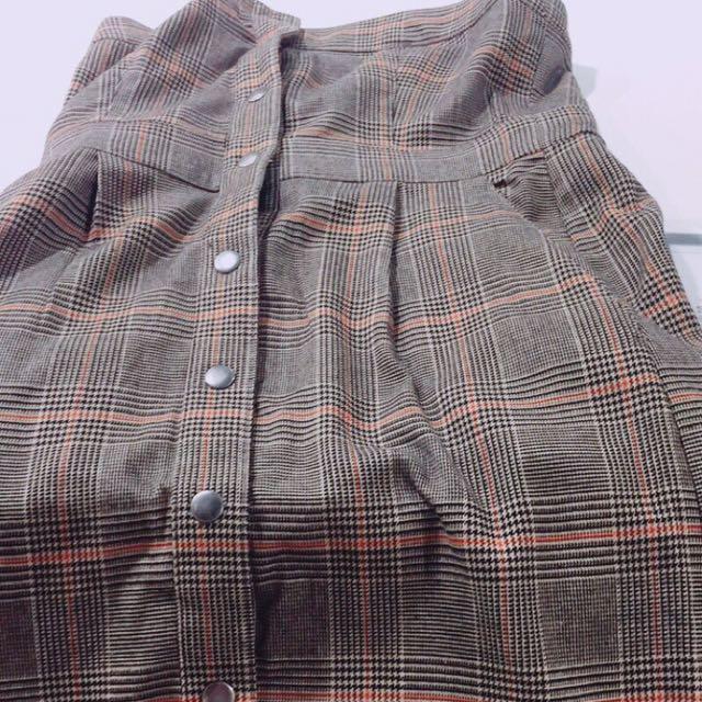 LOWRYS farm 復古吊帶洋裝