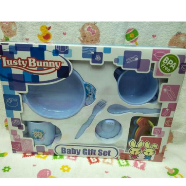 NEW Lusty bunny baby gift set