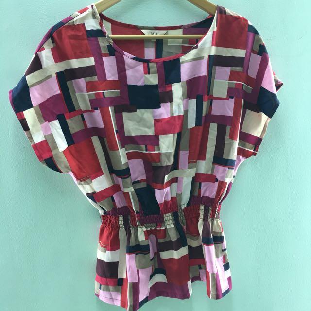 Mix blouse