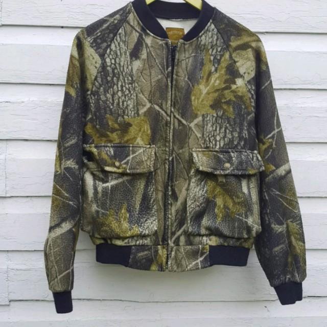 Mossy Oak Camo Fleece