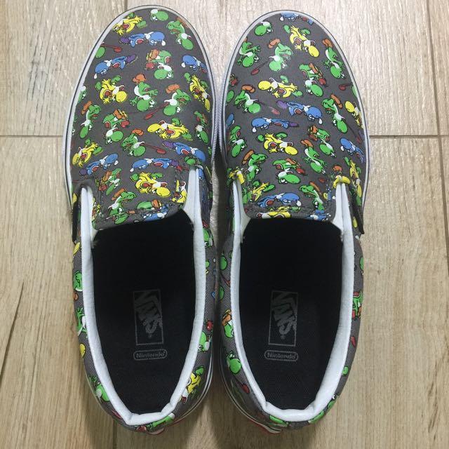 d0a9d195df New Kid s Vans Shoes (US size 4) - Nintendo Super Mario s Yoshi on ...