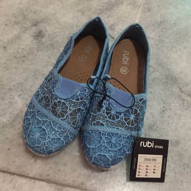 NEW!! Ruby Lace Flat Shoes