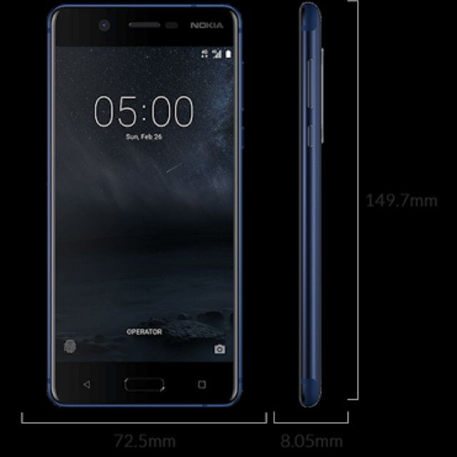 Nokia 5 Complete 1 month old