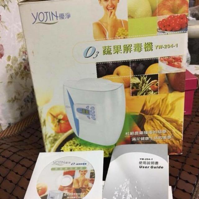 優淨O3蔬果解毒機/清洗機
