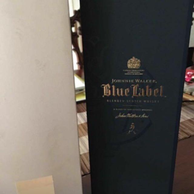 Original Johnny Walker blue label 750 ml