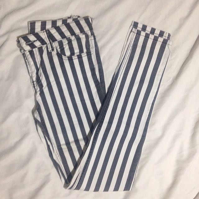 Ozoc Striped Pants