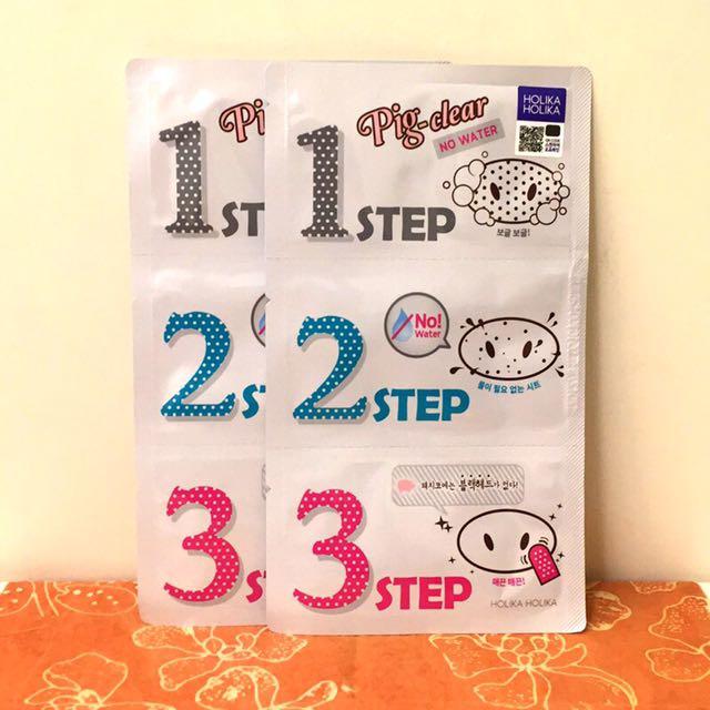 韓國pig-clear小豬3步驟鼻膜2片裝