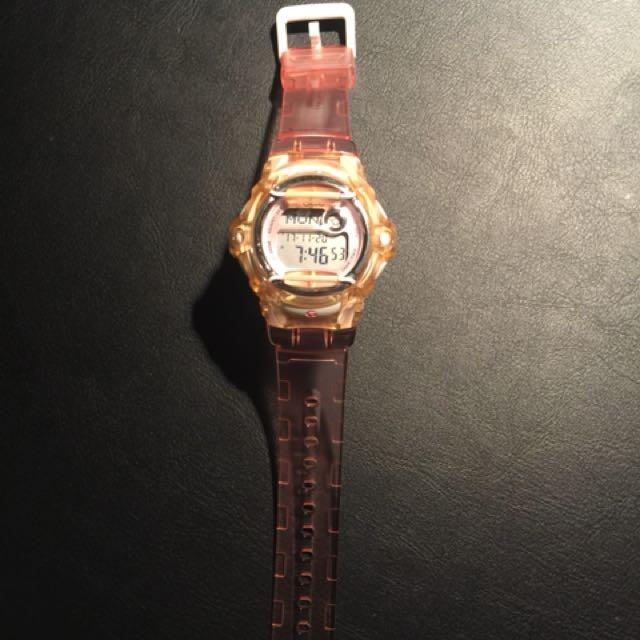 Pink Baby G-Shock Watch