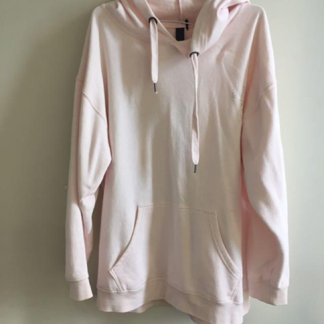 Pink oversize hoodie