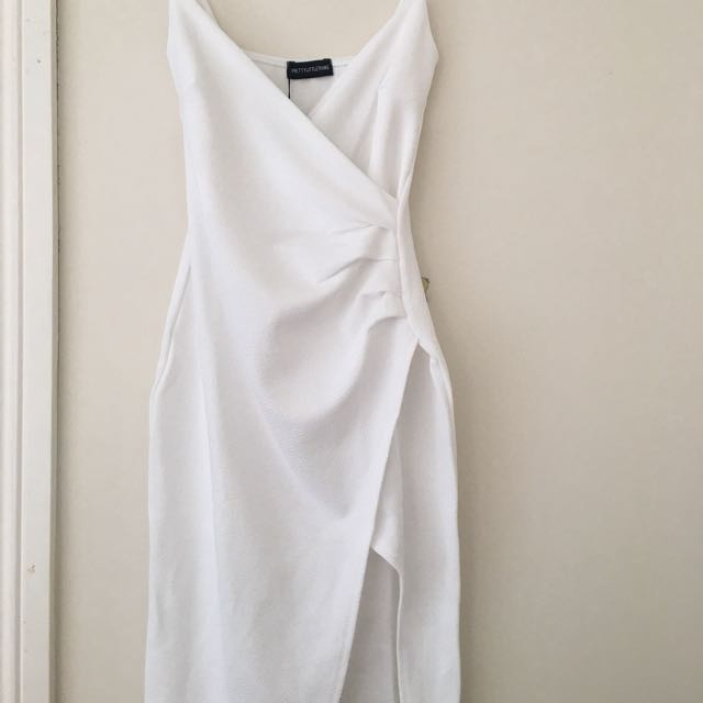PLT white formal dress