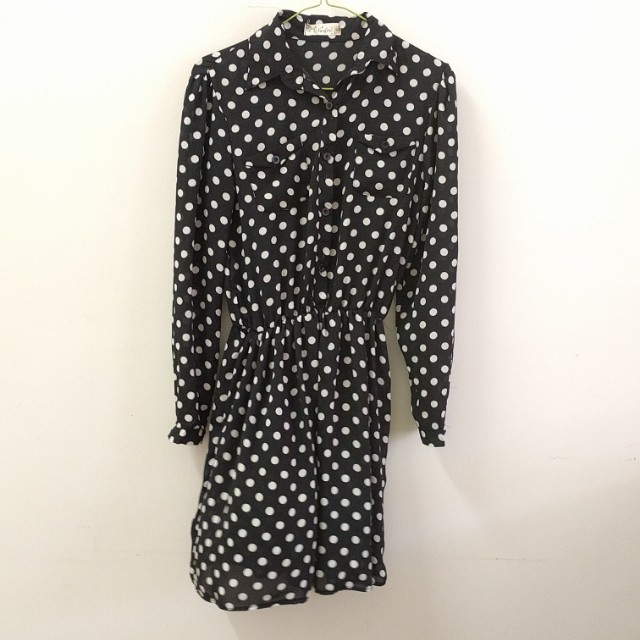 Polka dot dress /tunic top