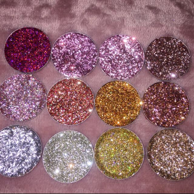 Pressed Glitter collection!