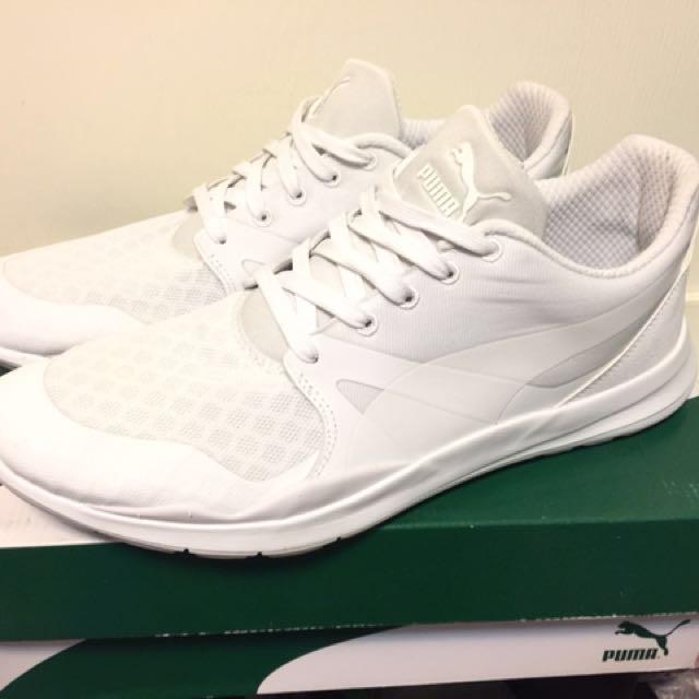 PUMA白色鞋10號