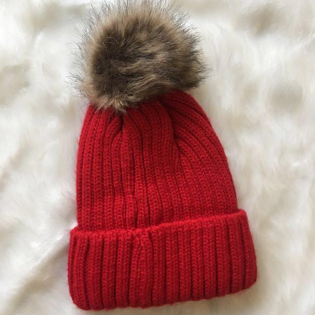 Red beanie / Winter cap