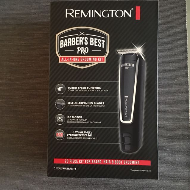 Remington Barber grooming kit