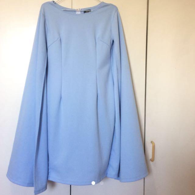 REPOSTING - CAPE DRESS
