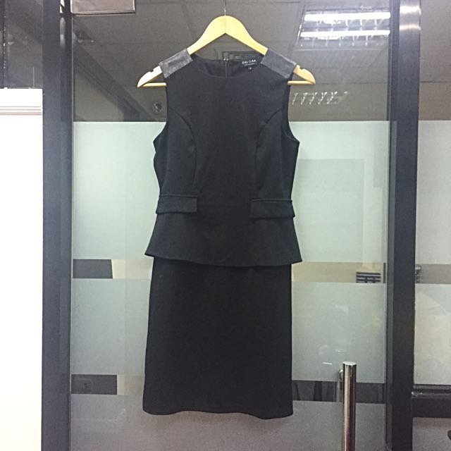 SALE! Zalora Black Office Dress S