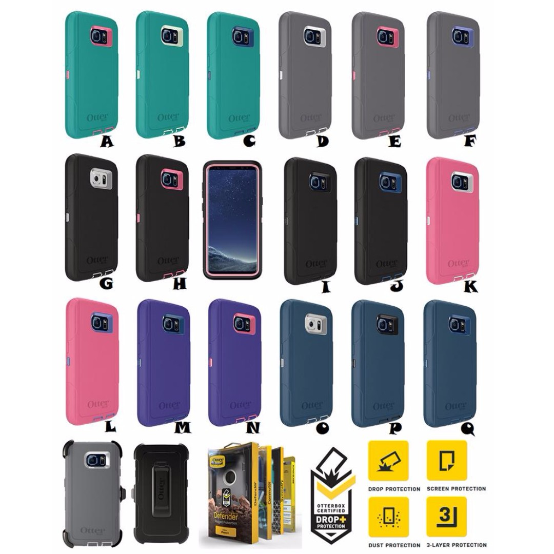 outlet store b085f 2a402 Samsung Galaxy Note 8 OTTERBOX DEFENDER SERIES Case Cover
