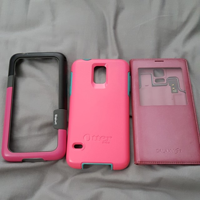 Samsung S5 casings (3 for $10)