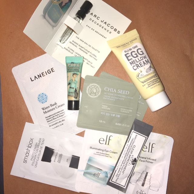 Sephora makeup & skin samples