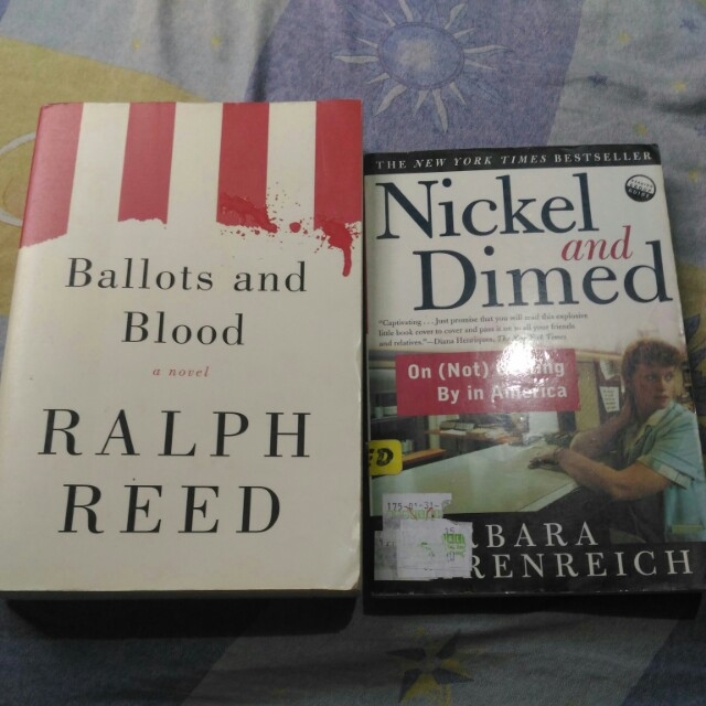 SET: Ballots and Blood + Nickel and Dimed