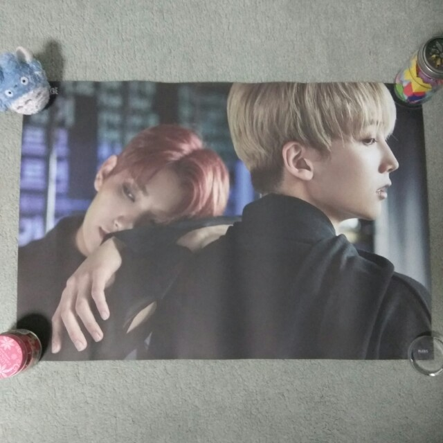SEVENTEEN - Teen, Age (Jeonghan & Joshua ver.) (Poster) [UNFOLDED]