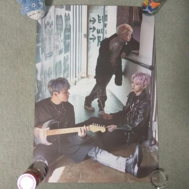 SEVENTEEN - Teen, Age (Jun, Hoshi & Vernon ver.) (Poster) [UNFOLDED]